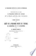 Les arrêts de la philosophie positive de l'histoire se demettre ou s'y soumettre par s. Émile Nerva