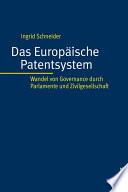 Das Europäische Patentsystem