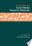 The SAGE Handbook of Social Media Research Methods