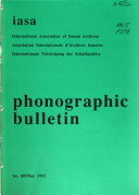 Phonographic Bulletin