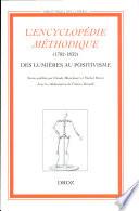 L'encyclopédie méthodique (1782-1832)