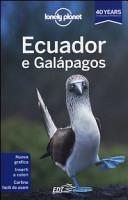 Copertina Libro Ecuador e Galápagos
