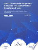 GMAT Graduate Management Admission Test Exam Practice Questions & Dumps