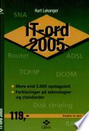 IT ord 2005