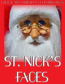 St  Nick s Faces Grayscale Christmas Coloring Book