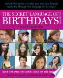 The Secret Language Of Birthdays Teen Edition book