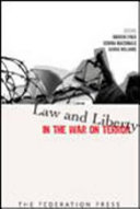 download ebook law and liberty in the war on terror pdf epub