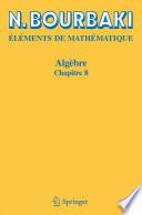 illustration du livre Algebre.