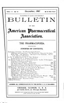 Bulletin of the American Pharmaceutical Association