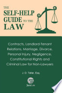 The Self Help Guide To The Law