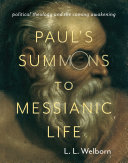 download ebook paul\'s summons to messianic life pdf epub