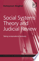 Social Systems Theory And Judicial Review