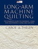 Long arm Machine Quilting