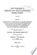 Patterson s American Education