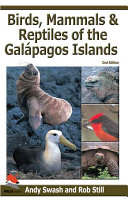 Birds  Mammals  and Reptiles of the Gal  pagos Islands