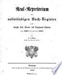 Grossherzoglich-Badisches Regierungs-Blatt