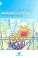 Social Justice In An Open World