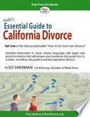 Nolo s Essential Guide to California Divorce