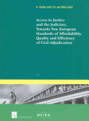 Access to Justice and the Judiciary