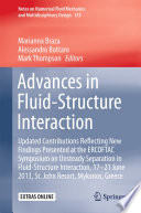 Advances in Fluid Structure Interaction