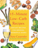 15 Minute Low-carb Recipes
