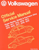 Volkswagen Beetle  Super Beetle  Karmann Ghia Official Service Manual