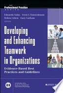 Developing and Enhancing Teamwork in Organizations