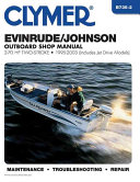 Evinrude Johnson 2 Stroke Outboard Shop Manual 2 70 Hp 95 03