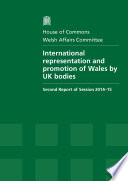 HC 337   International Representation and Promotion of Wales by UK Bodies