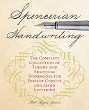 Spencerian Penmanship Practice Book  the Declaration of Independence