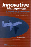 Innovative Management In The Darpa High Altitude Endurance Unmanned Aerial Vehicle Program book