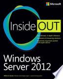 Microsoft Windows Server 2012 Inside Out