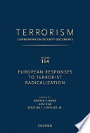 European Responses to Terrorist Radicalization