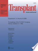 Transplant International book
