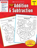 Scholastic Success With Addition   Subtraction  Grade 1