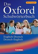 Das Oxford Schulw Rterbuch