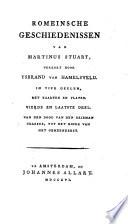 Romeinsche geschiedenissen van Martinus Stuart