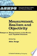 Measurement  Realism and Objectivity