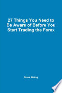 download ebook 27 things you need to be aware of before you start trading the forex pdf epub