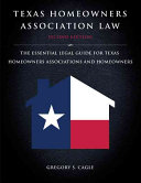 Texas Homeowners Association Law