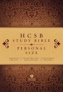 HCSB Study Bible Personal Size  Hardcover