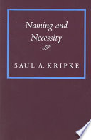 Naming And Necessity book