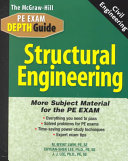 The McGraw Hill Civil Engineering PE Exam Depth Guide