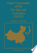 Major Companies of The Far East and Australasia 1991 92