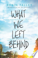 What We Left Behind : comes an emotional, empowering story...