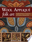 Wool Appliqu   Folk Art