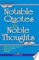 Notable Quotes   Noble Thoughts