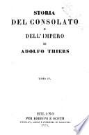Storia del consolato e dell impero di Adolfo Thiers
