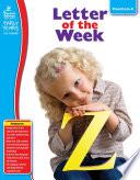 Letter of the Week  Grades Preschool   K