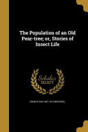POPULATION OF AN OLD PEAR-TREE